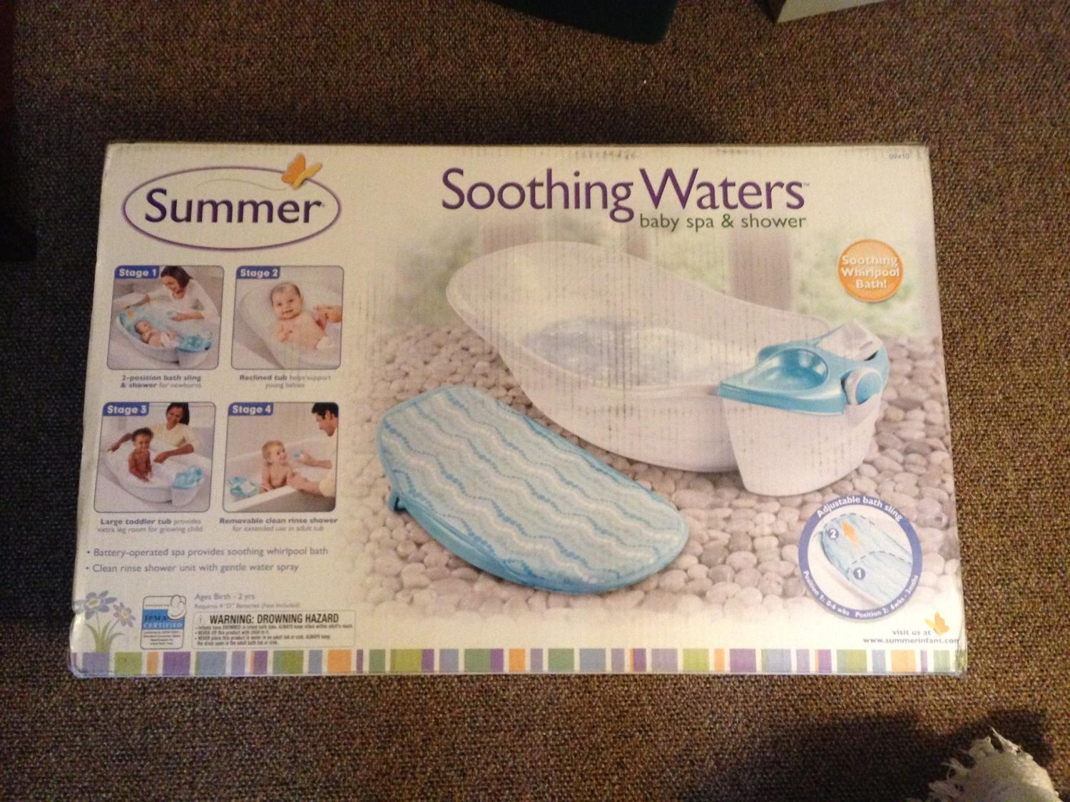 Best Summer Soothing Waters Baby Spa U0026 Shower For Sale In Port