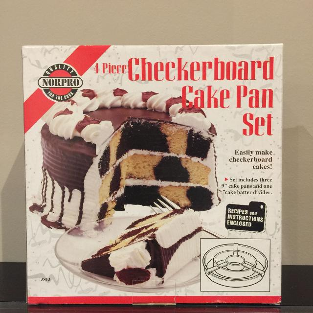 Best Norpro Checkerboard Cake Pan Set For Sale In Richmond Hill