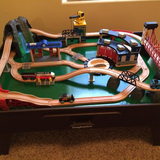 Find more Imaginarium Rock Mountain Train Table for sale at up to 90 ...