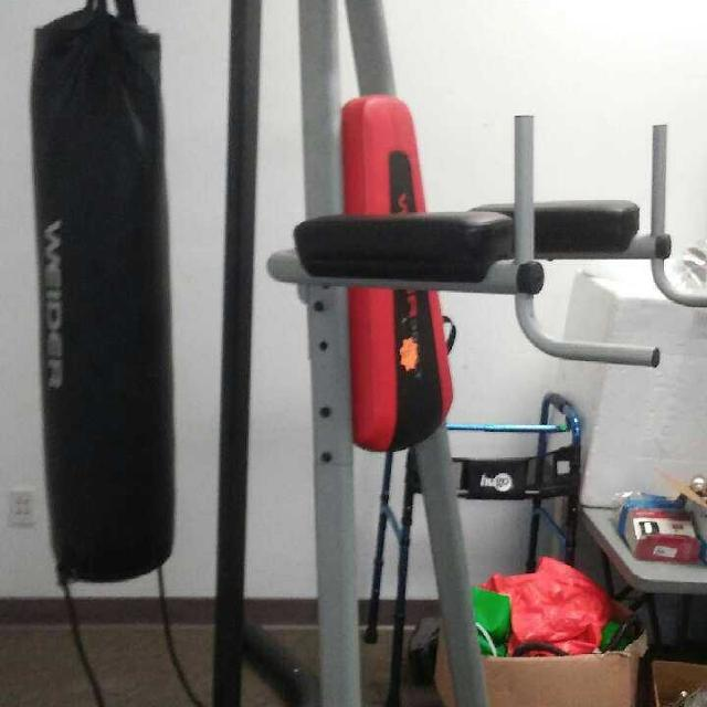 Tower And Heavy Bag Combo