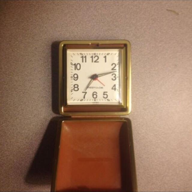 Best Vintage Westclox Travel Alarm Clock For Sale In Orange Park