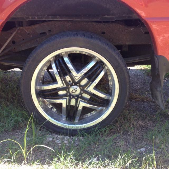 Best 18 Rims And Tires Fit Ranger Or Mustang Camaro S10 Chevy For