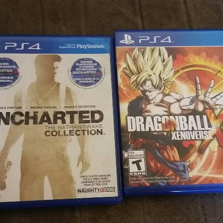 Uncharted 1 2 3 collection plus..., used for sale  Canada