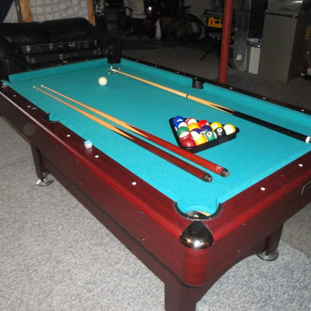 Find More Sportcraft Pool Table X Feet Long For Sale At - 3 1 2 x 7 pool table