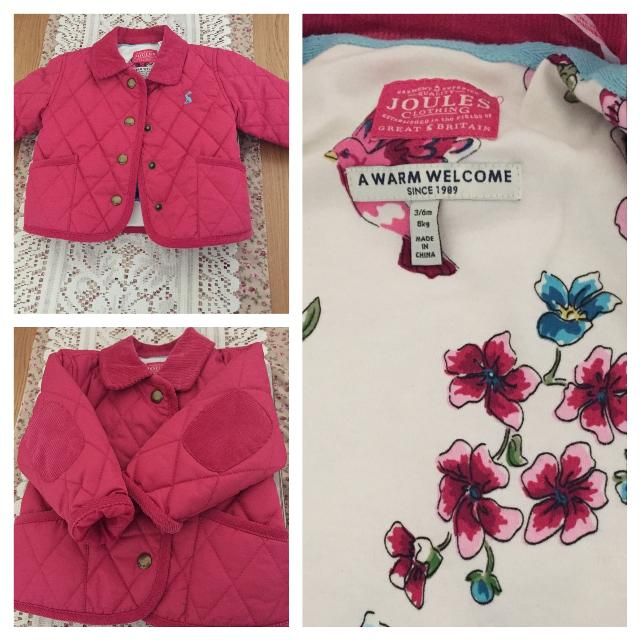 4ce6730702f8 Best Joules Baby Girl Jacket Size 3-6 Months Bnwt for sale in ...