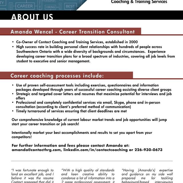Career Counselling and Professional Resume Writing Services in ...
