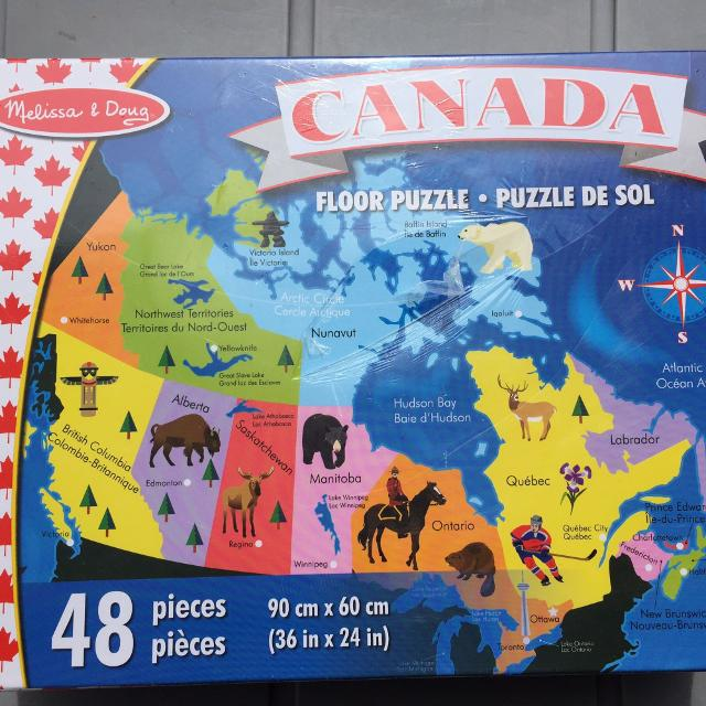 Find More Canada Map Puzzle For Sale At Up To Off - Canada map puzzles