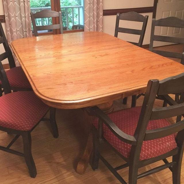 Find More Solid Oak Double Pedestal Claw Foot Dining Room Table - Claw foot dining room table