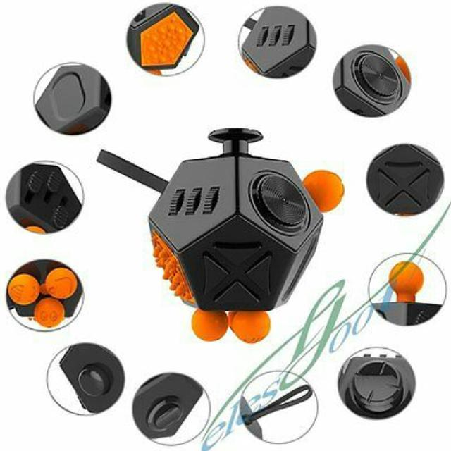 best 12 sided fidget cube great anxiety toy for sale in brenham