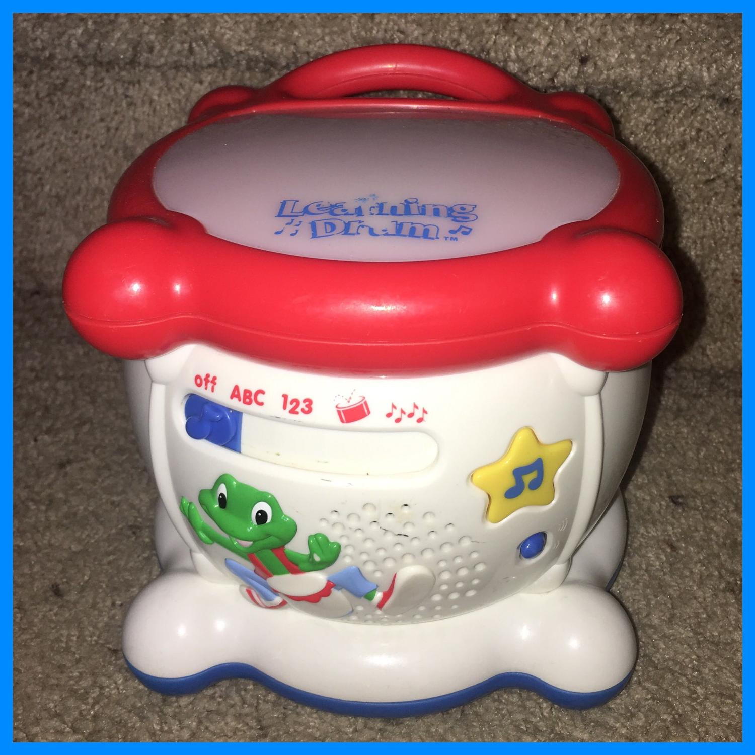 Find more Leap Frog Learning Drum Abc's 1,2,3's ...