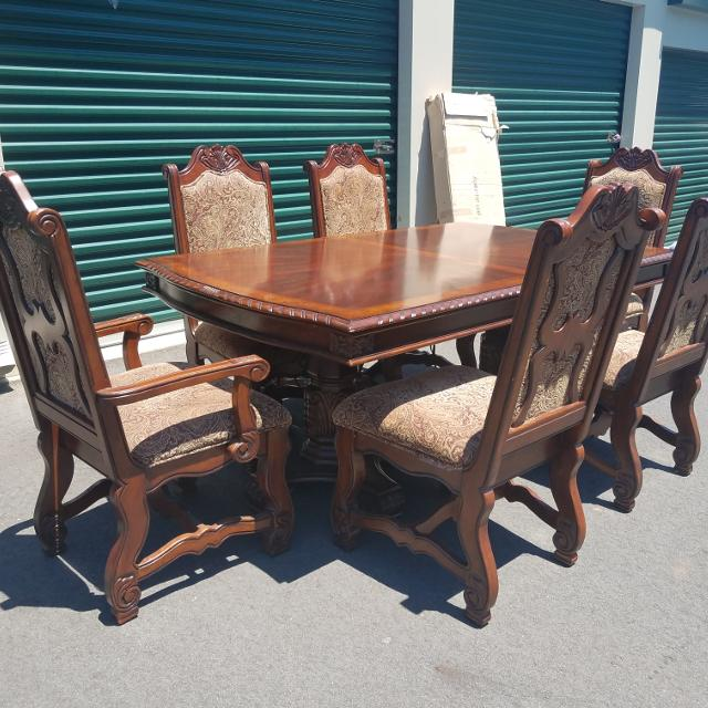 Best Beautiful Ashley Furniture 6 Chair Dinning Room Table For Sale