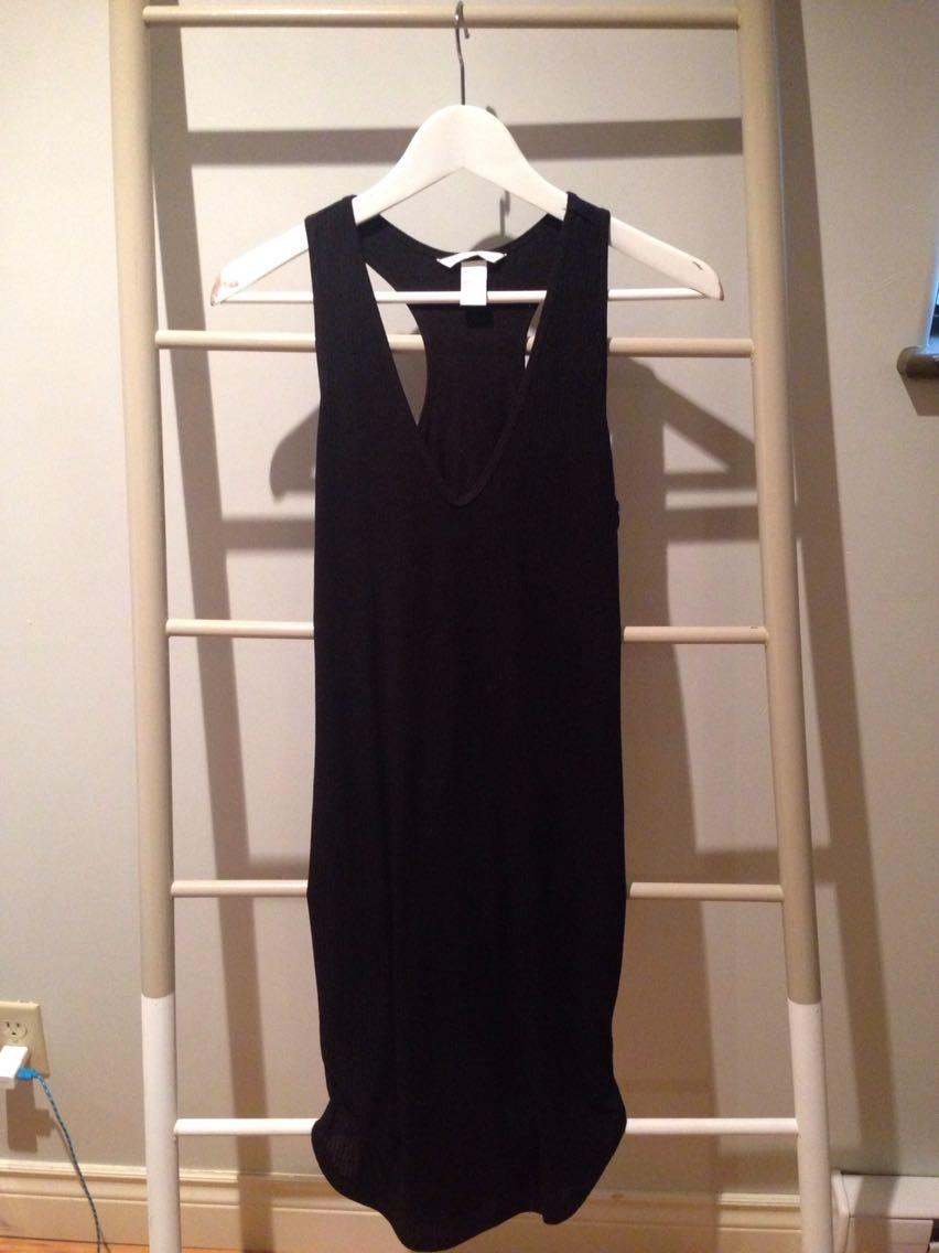 f91e87ebe80 Best H m Black Ribbed Dress for sale in Victoria