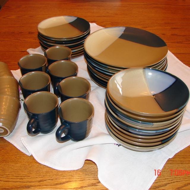 Find more Sango Gold Dust Blue Dinner Dishes for sale at up to 90% off