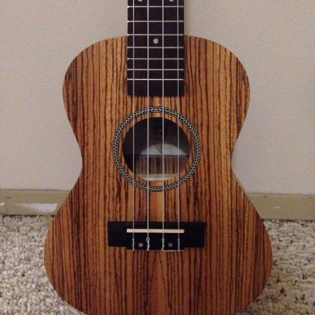 Twisted Wood Concert Ukelele for sale  Canada