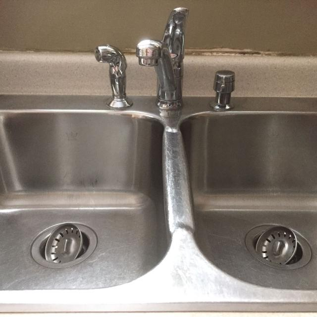 Best Kindred (steel Queen) Double Kitchen Sink And Moen Faucet for ...
