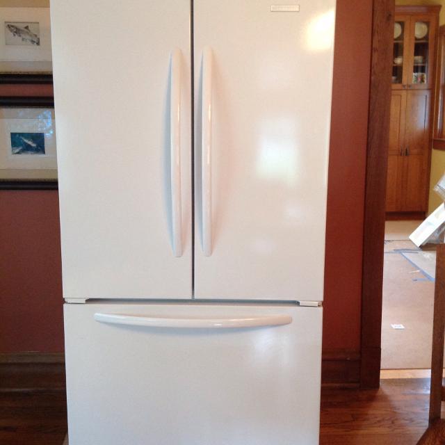 KitchenAid Architect Series II, french door, counter-depth refrigerator