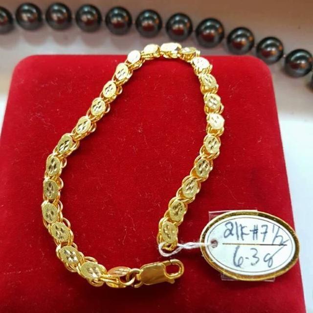 Best 21k Saudi Gold Bracelet for sale bf10f4d5819a