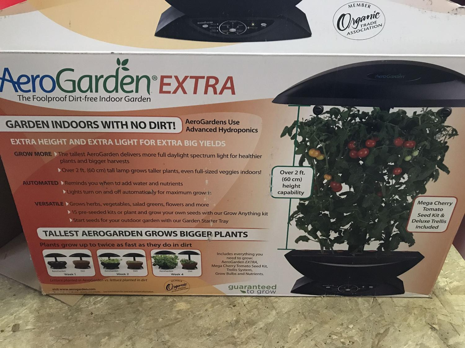 Find more Aero Garden Extra for sale at up to 90% off
