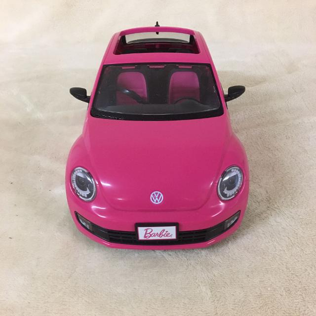 Punch Buggy Car >> Pink Barbie Punch Buggy Car