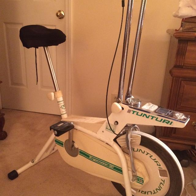 Fitness Equipment Nashville: Best Vintage Tunturi Exercise Bike For Sale In Franklin