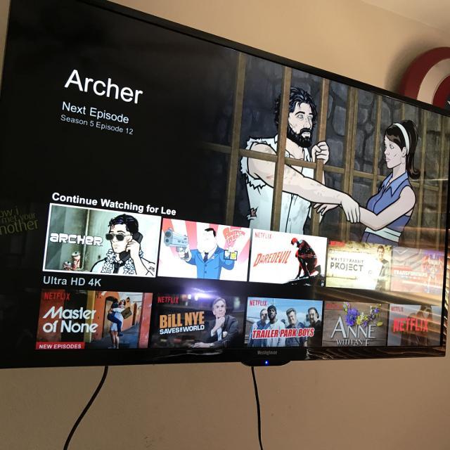 42 inch Westinghouse 4K tv  Warranty too